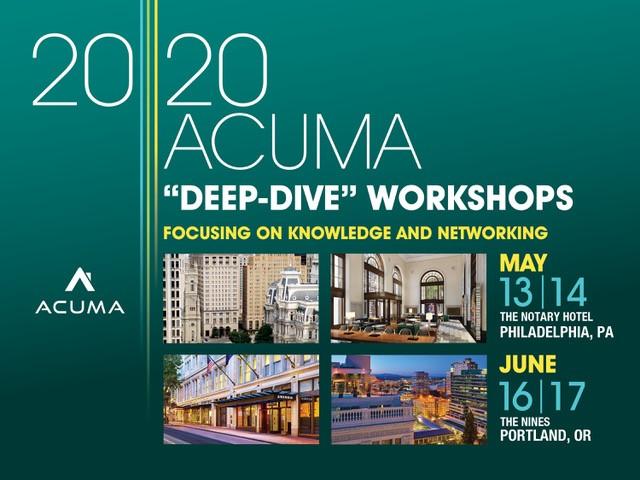 ACUMA 2010 Workshops